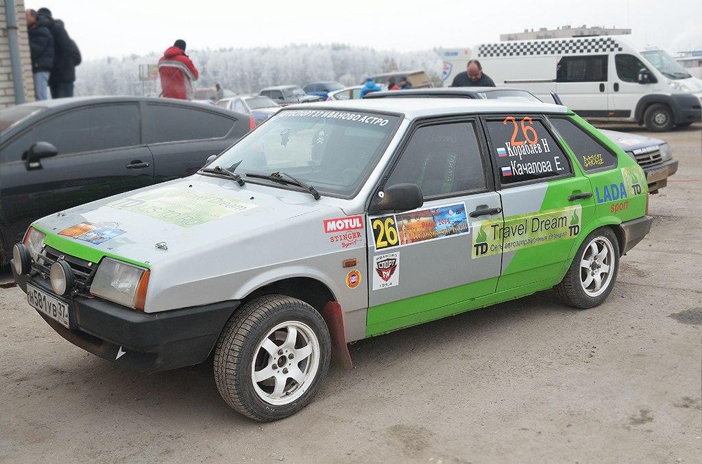 """Сеть АЗС """"Travel Dream"""" стала спонсором трех гоночных команд в ралли """"Ивановский край 2014""""."""